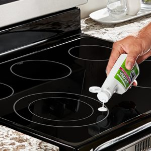 Cooktop Cleaner Step 3